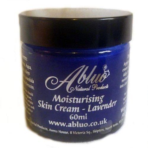 Lavande Crème hydratante Abluo l'humidité de la peau.