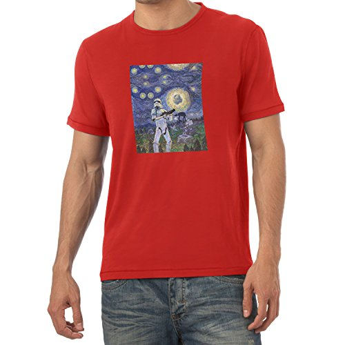 TEXLAB - Endor Nights - Herren T-Shirt Rot