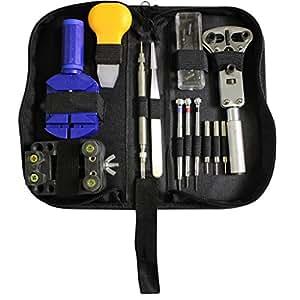 kit de 30 outils de r paration montre enl ve maillon ajusteur de bracelet changeur de piles. Black Bedroom Furniture Sets. Home Design Ideas