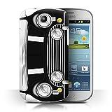 Coque de Stuff4 / Coque pour Samsung Galaxy Express/I8730 / Noir Classique Design / Mini Rétro Classique Collection