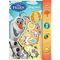 Disney Frozen Olaf Busy Pack Activity Set, Stickers, colouring Sheets, standees and more