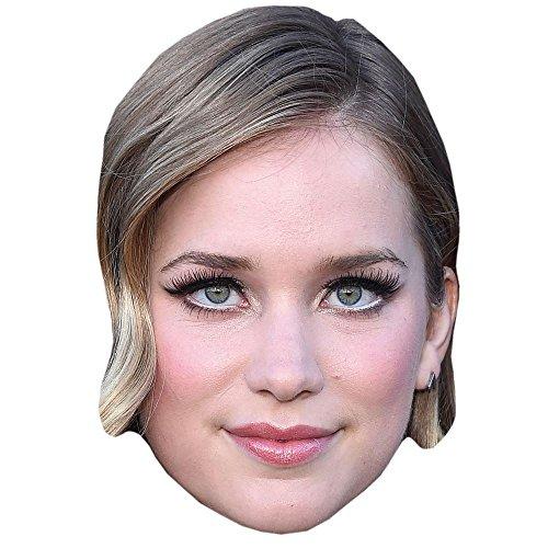 Celebrity Cutouts Elizabeth Lail Maske aus Karton
