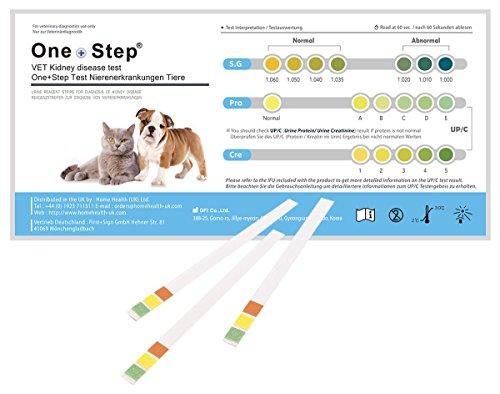 5 Stück Gesundheitstest für Katzen und Hunde - Nieren Check