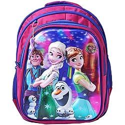 Best Shop Fabric 24 Ltrs Kids Pink School Backpack
