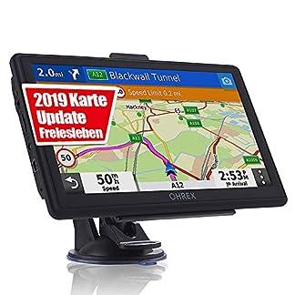 OHREX-GPS-Navi-Navigation-fr-Auto-LKW-PKW-KFZ-Navigationsgert-Lebenslang-Kostenloses-Kartenupdate-2019-EU-52-Karten-POI-Sprachfhrung-Parkassistent-Fahrspurassistent