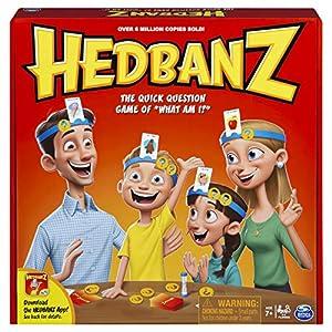 Games Spin Master - Hedbanz, Juego de Preguntas, versión en inglés Importado de Inglaterra