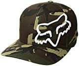 Fox Racing Men's Clouded Flexfit Hat Camo Green SM