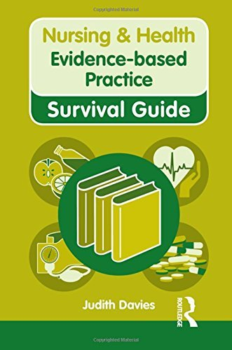 Evidence-based Practice (Nursing and Health Survival Guides) by Judith Davies (19-Jan-2012) Spiral-bound