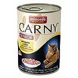 Animonda Carny Senior mit Huhn & Käse | 6x 400g Katzenfutter nass