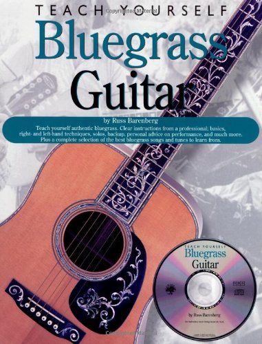 Teach Yourself Bluegrass Guitar (Book & CD): Noten, Lehrmaterial, Bundle, CD für Gitarre