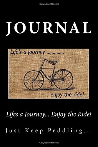 Lifes a Journey. Enjoy the Ride! Journal: Journal with 150 lined pages por Wild Pages Press
