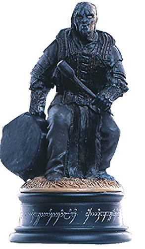 Lord of the Rings Chess Collection Nº 20 Orc Drummer 1