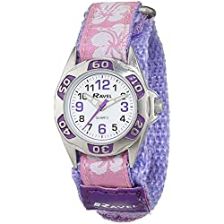 Ravel Girl's Lilac Strap Watch