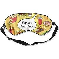 Seamless Cartoon Pizza Doughnut 99% Eyeshade Blinders Sleeping Eye Patch Eye Mask Blindfold For Travel Insomnia... preisvergleich bei billige-tabletten.eu
