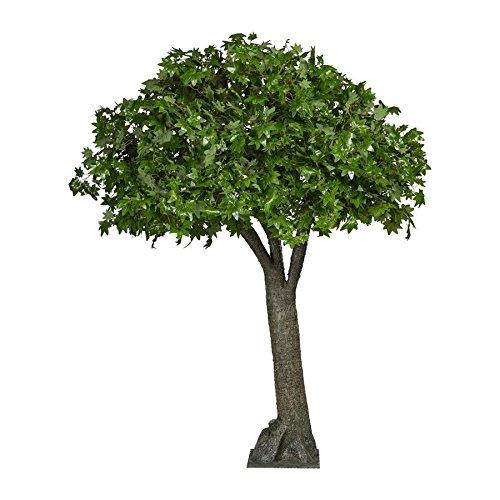 Ahornbaum, 240 cm, grün 3750 Kunststoffblätter, Kunstbaum (994929274231)
