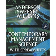 Contemporary Management Science with Spreadsheets by David R. Anderson (1999-11-08)