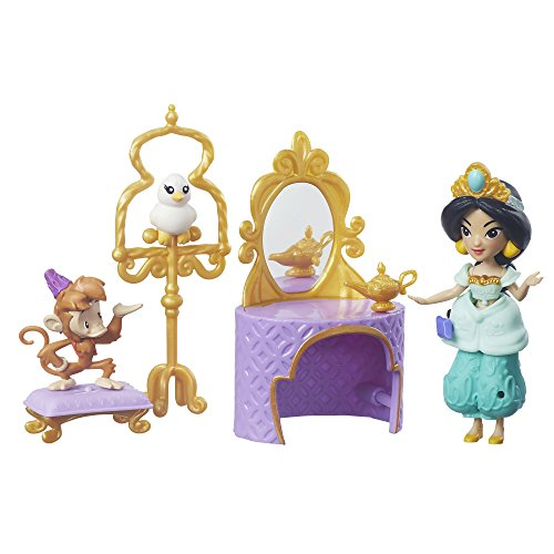 Disney Princess Little Kingdom Jasmine's Golden Vanity Set (Mix-outfits Little)