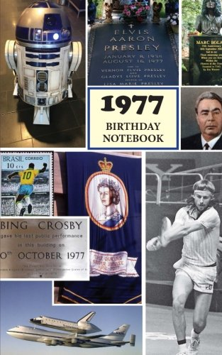 1977 Birthday Notebook: a great alternative to a birthday card