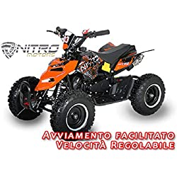 Motorbimbo Nitro Motors MIni Quad 50 Repti 6 Blu