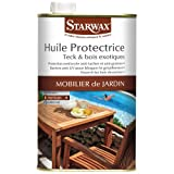 STARWAX Huile protectrice Bois exte.Teck 1l 193