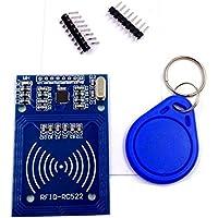 JZK® Mifare RC522 Tarjeta leída Antena RFID RF IC del lector Módulo de tarjetas