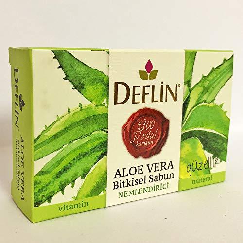 Natur Seife%100 - Aloe Vera & Kräutermischung Seifen - Feuchtigkeitsspender Erfrischend Straffungs Reinigungs Regenerative Naturprodukt Duschseife Make-up-Entfernung Mineralien Entspannend Beruhigend
