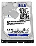 WD Blue 1TB SSHD Interne Festplatte (6,4 cm (2,5 Zoll) für den Einsatz in PCs, Hochleistungs-Workstations und Spielkonsolen)