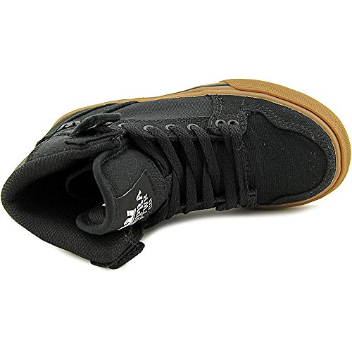Supra KIDS VAIDER Unisex-Kinder Hohe Sneakers Black/Gum