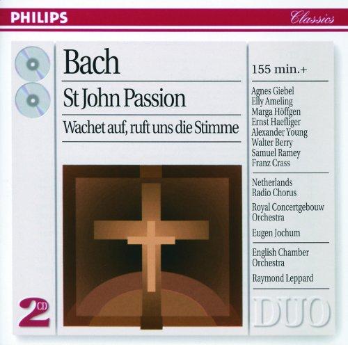 Bach, J.S.: Johannes-Passion; Wachet auf, ruft uns die Stimme (2 CDs)