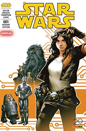 Star Wars Nº1 (couverture 2/2) par Kieron Gillen