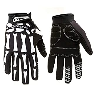Touch Screen Motorcycle Gloves Waterproof Motocross Gloves Downhill Cycling Riding Leather Mittens for Funny Gift