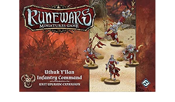Runewars Uthuk The Infantry Command Miniatures Game Expansion Y'llan iOPkXuZ