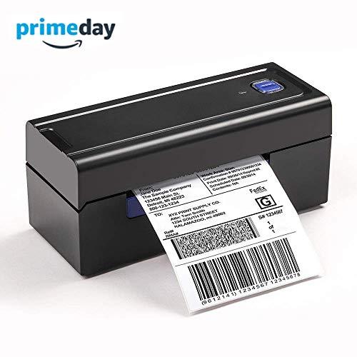 Gewerbliche Vier (Etikettendrucker Direkter thermischer Hochgeschwindigkeitsdrucker für gewerbliche Zwecke - Kompatibel mit Amazon, Ebay, Etsy, Shopify - 4 × 6 - Schwarzwald-Serie)