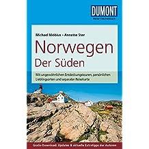 DuMont Reise-Taschenbuch Reiseführer Norwegen, Der Süden: mit Online-Updates als Gratis-Download