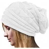 Culater® Cappello donna inverno del Crochet LANA Beanie Caps Warm