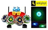 #4: Zest 4 Toyz 4Metal Beyblades With Led Lights