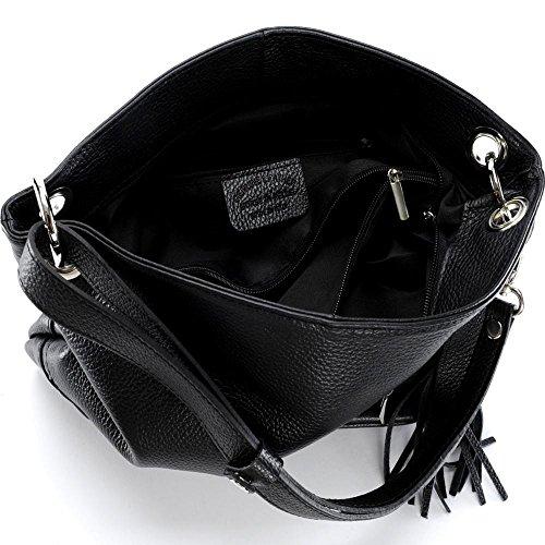 OH MY BAG Kors, Borsa a spalla donna compact nero