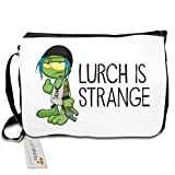getshirts - Gronkh Official Merchandising - Schultertasche - Lurch is Strange Chloe - white uni
