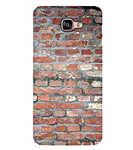 PrintVisa Designer Back Case Cover for Samsung Galaxy A9 (2016) :: Samsung Galaxy A9 Pro (2016) (Brick wall Pattern Brick work )