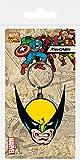 AMBROSIANA Marvel Comics Portachiavi Wolverine 6 cm Pyramid International