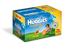 Huggies - 2998.60.3  - Super Dry Big Pack - Taille 5 - 11-19 kg x 63 Couches