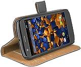 mumbi Ledertasche im Bookstyle für Motorola Moto G Tasche