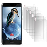 5X Huawei P8 Lite 2017 | Schutzfolie Matt Display Schutz [Anti-Reflex] Screen Protector Fingerprint Handy-Folie Matte Displayschutz-Folie für Huawei P8 Lite/Honor 8 Lite Displayfolie