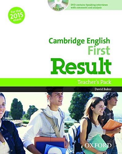 Cambridge English: First Result: First Certificate in English Result Teacher's Book & DVD Pack Edition 2015