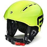 Briko Kodiakino, Casco da Ski Unisex - Adulto, 971Y002/Yellow/Fluo, Taglia Unica