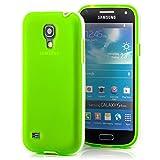 Saxonia. Silicone Back Cover per Samsung Galaxy S4Mini GT-i9190/GT i9195LTE in TPU Silicon Custodia Protettiva Bumper Case Esterno Guscio Protettivo Back Cover Custodia in Verde