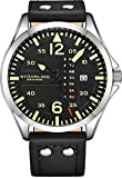 Stuhrling Original Herren Uhr Analog Quarz mit Leder Armband 699Z.01