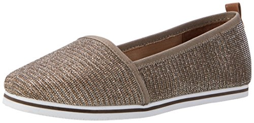 tom-tailor-womens-2792201-ballet-flats-gold-size-6-uk
