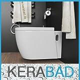Design Wand Hänge WC Toilette inkl. Soft Close Deckel aus Duroplast KB80