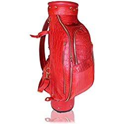 Terrida bolsa de golf de cocodrilo - RC048 (Rojo )